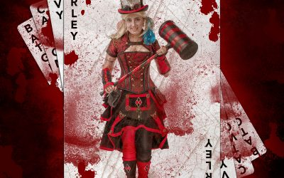 Steampunk Harley. Bloody Version