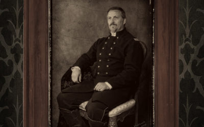 Commission – Reenactor Portrait, Union Officer.