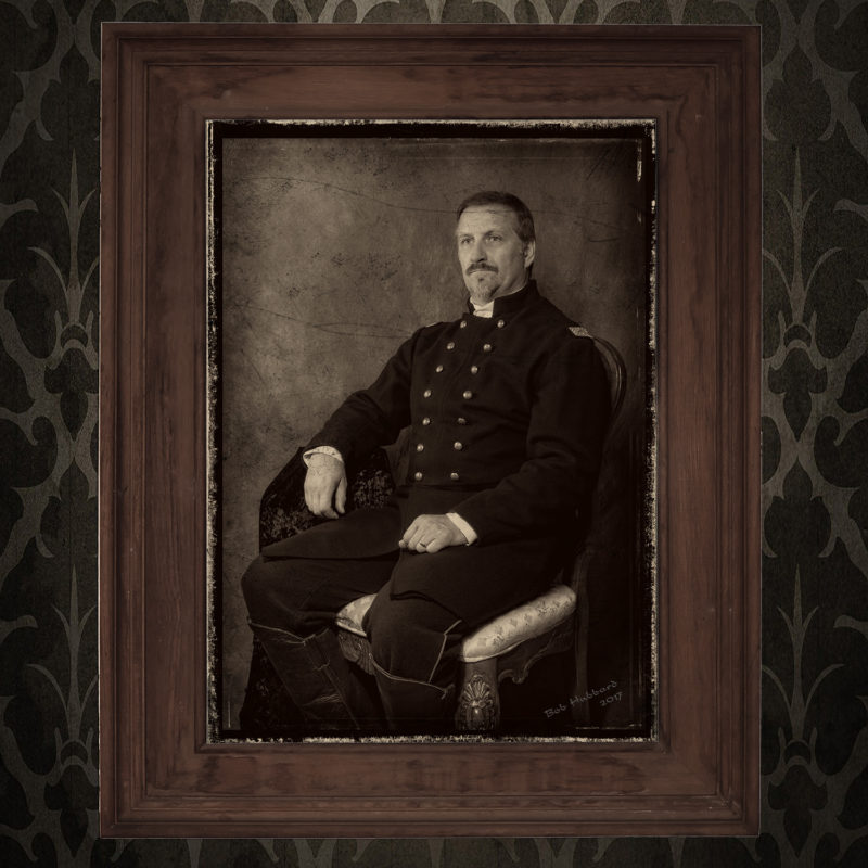 Commission - Reenactor Portrait, Union Officer.