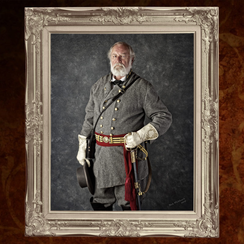 Reenactor portrait - Confederate General Robert E. Lee