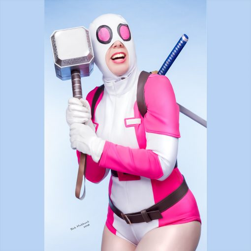 Cosplay Pin Up Photography, Buffalo NY - Gwenpool IS Worthy!