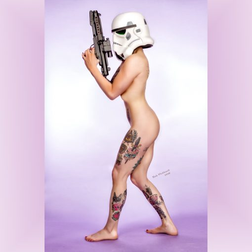 Cosplay Pin Up Photography, Buffalo NY - Just as effective as full stormtrooper armour
