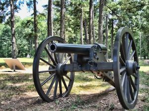 Battle of Chickamauga - Artillery