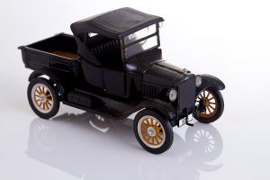 Experimental Product Photography, Model Car
