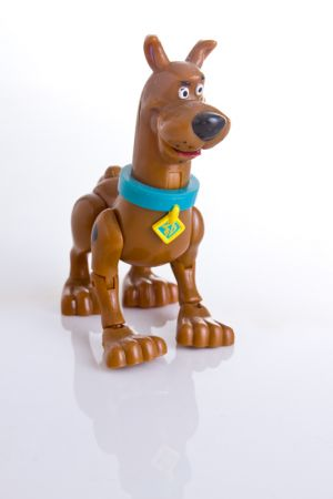 Experimental Product Photography, Scooby Doo Action Figure