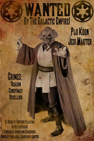 Wanted: Jedi Master Plo Koon