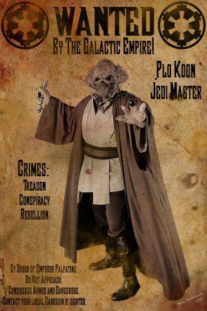 Wanted: Jedi Master Plo Koon
