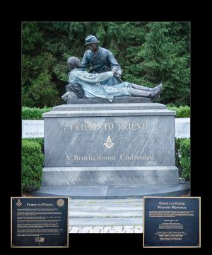 Masonic Monument at Gettysburg 16x20