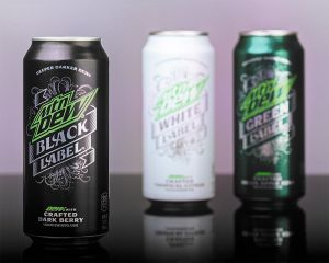 Mt Dew Black Label