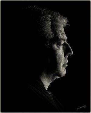 Datu Tim Hartman portrait by Bob Hubbard 2017