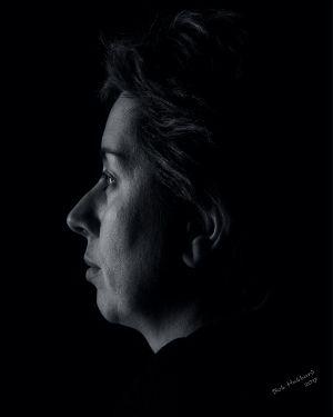 Susan Hubbard, portrait by Bob Hubbard 2017