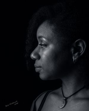 Jessica, portrait by Bob Hubbard 2017