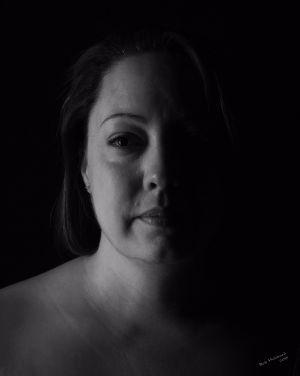 Kim, portrait by Bob Hubbard 2017