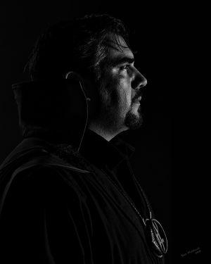 Dr. Steven Strange - Low Key portrait by Bob Hubbard 2017