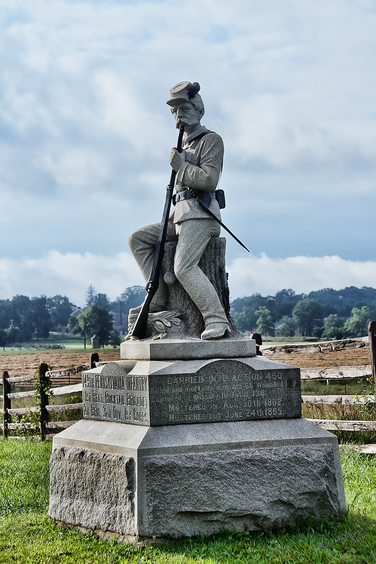 149th PA - Gettysburg PA, Photo by Bob Hubbard