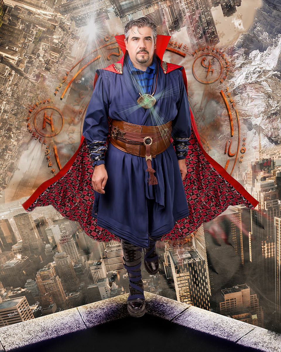 Dr. Steven Strange as portrayed by Steven Lukasik