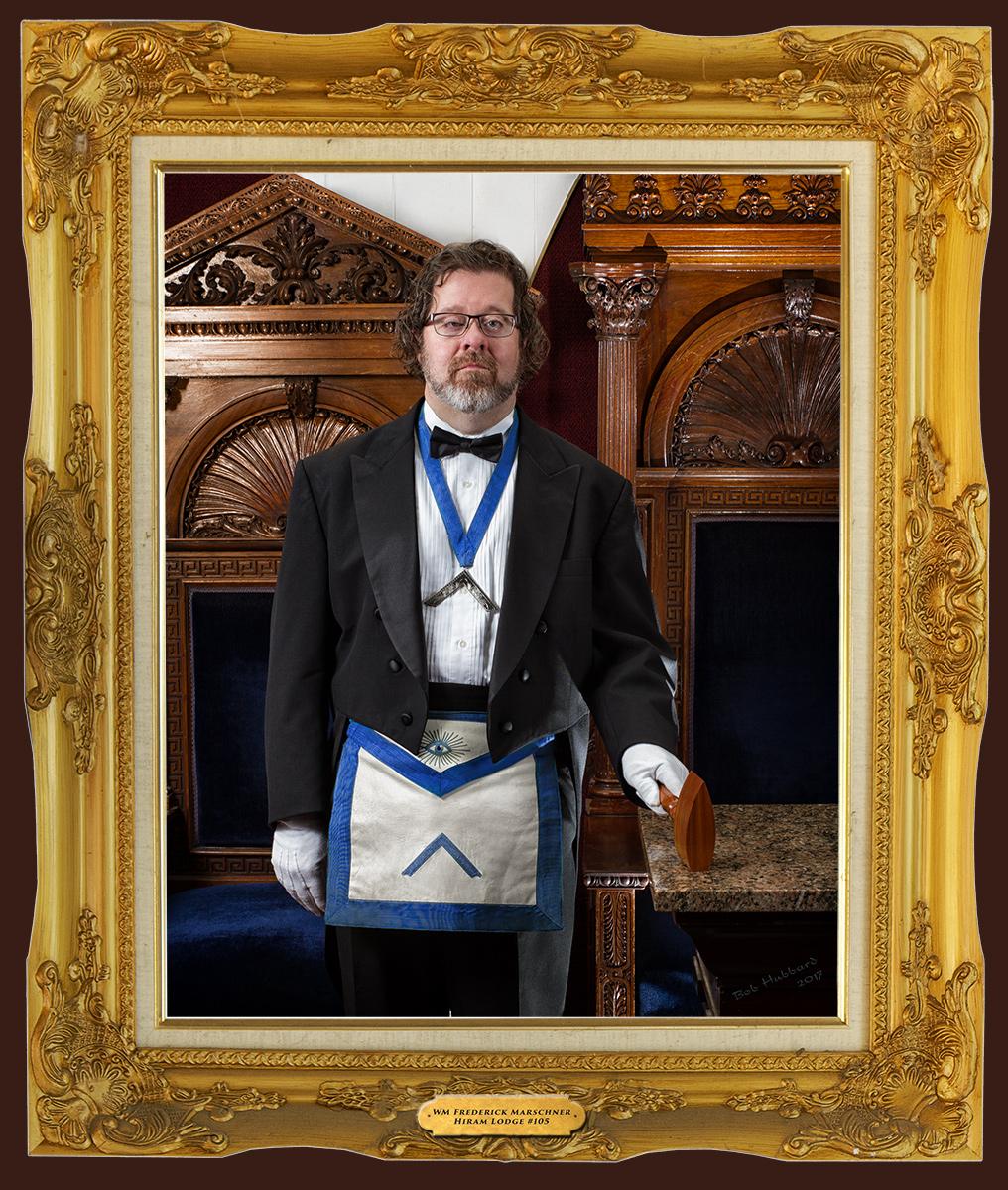 WM Frederick Marschner, Hiram Lodge #105