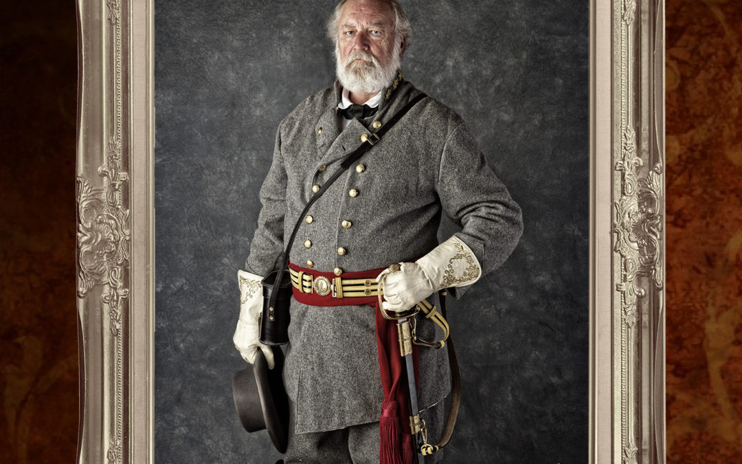 Commission – Reenactor portrait – Confederate General Robert E. Lee