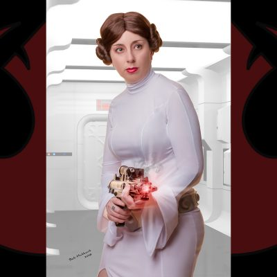 Cosplay Pin Up Photography, Buffalo NY - Leia