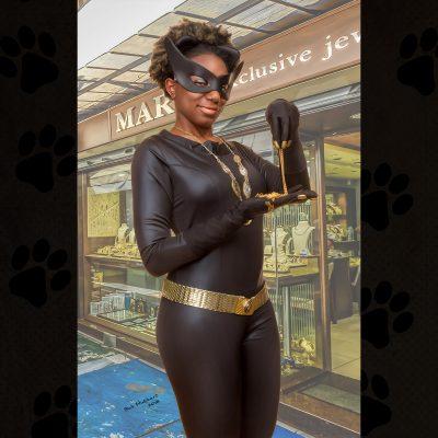 Cosplay Pin Up Photography, Buffalo NY - Catwoman