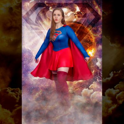 Cosplay Pin Up Photography, Buffalo NY - Supergirl
