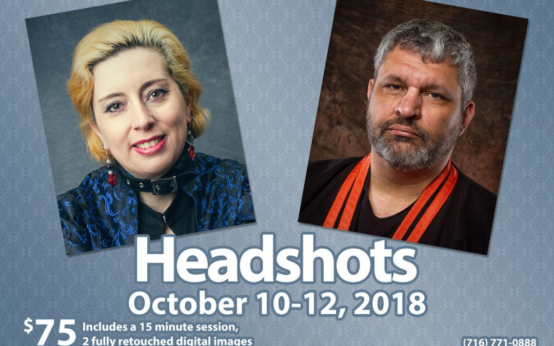 October Headshot Special