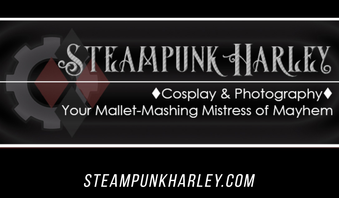 Steampunk Harley Cosplayer